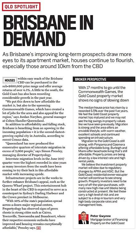 Brisbane in Demand
